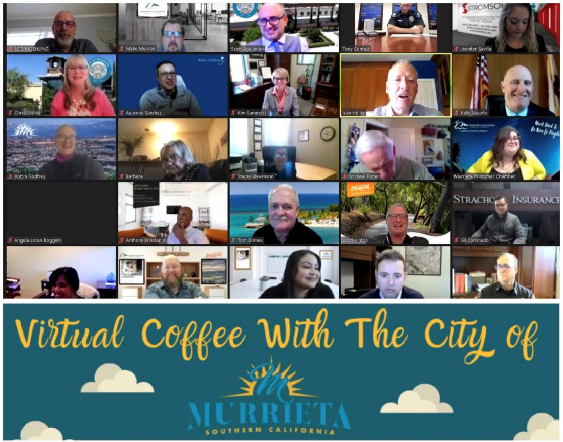 Virtual Coffee with the City of Murrieta
